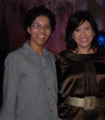 Con la Primera Dama Dominicana