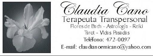 Claudia Cano - Terapeuta Transpersonal