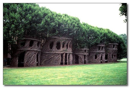 Stickwork by Patrick Dougherty