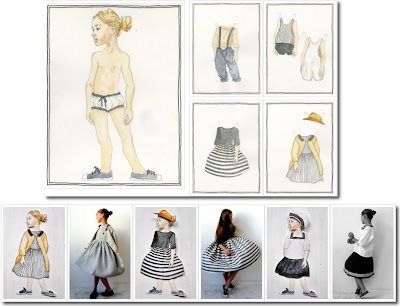 paper dolls at VDJ boutique france