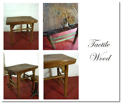 vintage table from elemental