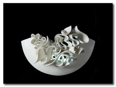 ceramic lighting by jo davies