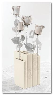 book vase seletti italy