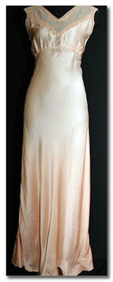 1930s nightdress at vintage vixen