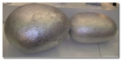 silver pebble cushions