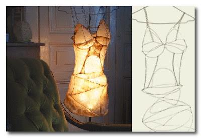 wire corset light