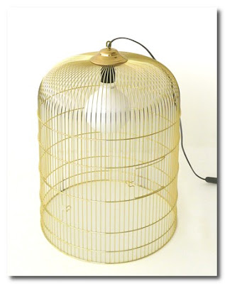 birdcage lamps by ascete