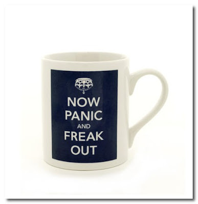 now panic and freak out mug pedlars