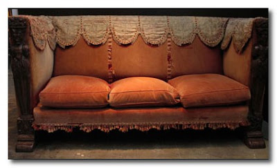 vintage sofa from obsolete inc