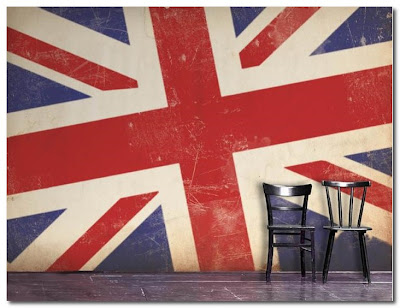 cool britannia wallpaper by grande designs
