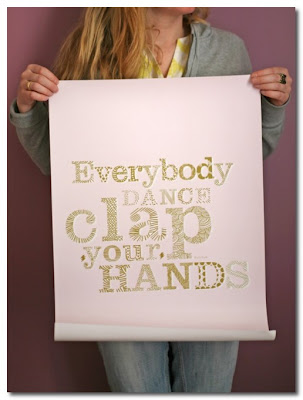 everybody dance clap your hands poster
