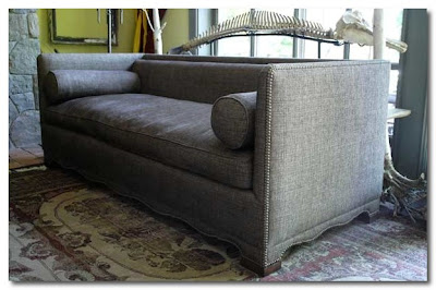 Michael Trapp upholstered sofa
