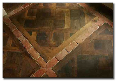 Michael Trapp wood and quarry tile floor