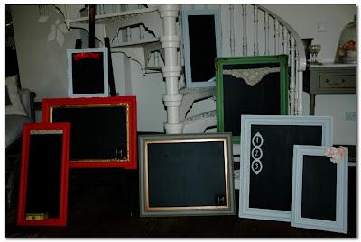 ghost furniture blackboards