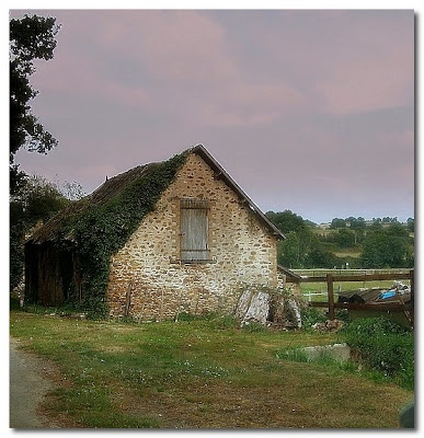 abandoned french farmhouse