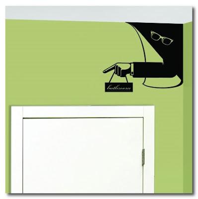bathroom spy sticker hu2