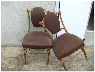 vintage chairs chatou brocante