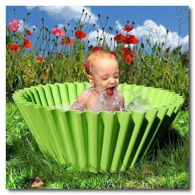 sweet cake baby bath