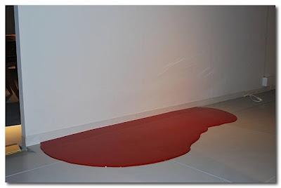 Paint Spill rug by Rainer Splitt