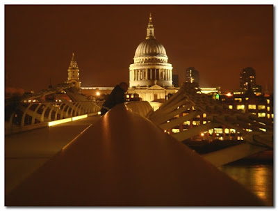 st pauls from millennium bridge london