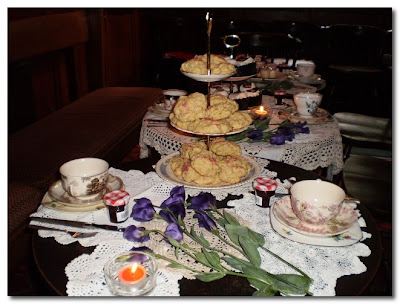vintage patisserie 1920s tea party