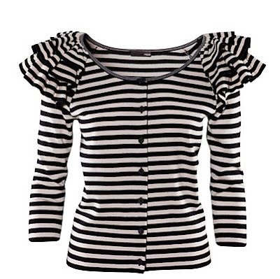 stripe cardigan hm