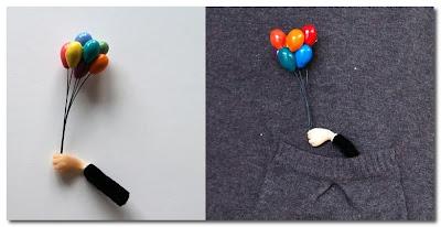 Hairy Sock - Fun Jewellery