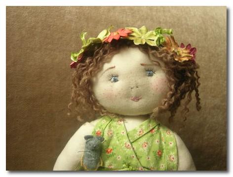 dolls by Le Jardin des Farfalous