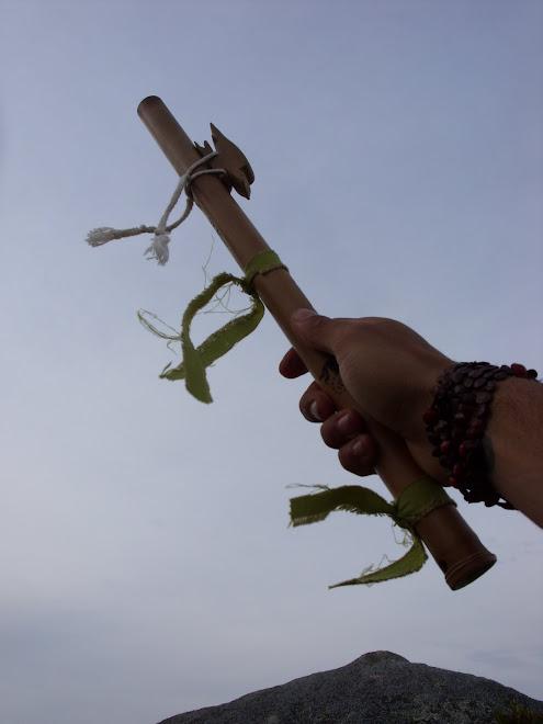 Flauta Kokopelli Bamboo