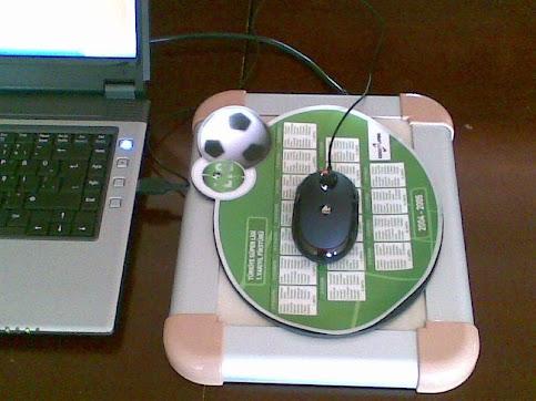 Mouse Pad ile kullanım