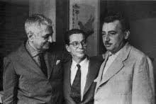 Gilberto Freyre, Anísio Teixeira e Jorge Amado, em 1961