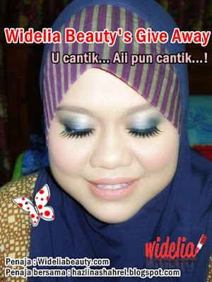 Widelia Beauty's Give Away