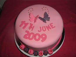 christen cake