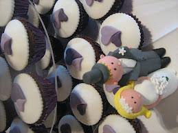 25.9.10 purple heart cupcakes