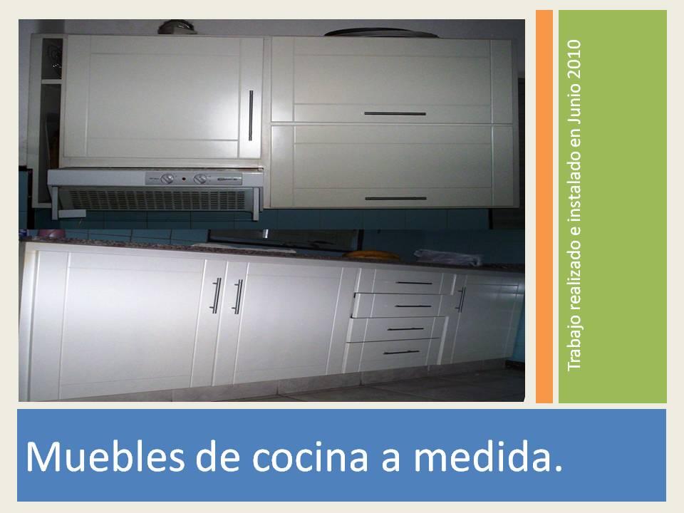 Reynaga muebles muebles de cocina a medida distintos modelos for Precios muebles de cocina a medida