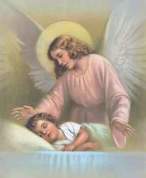 Meu Anjo da Guarda, meu bom guardador, guardai minha alma para Nosso Senhor.