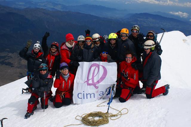 Misión cumplida. Pico de Orizaba 2009.