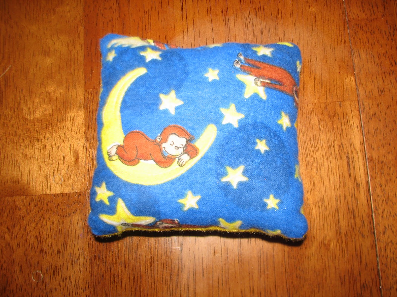 Izzie mac and me creation bean bags for Moon and stars fleece fabric