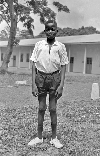 schoolboy Senesi Edward Lahai at Kenema
