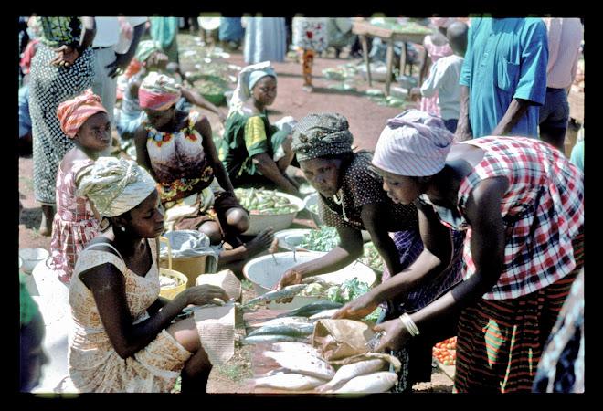 Joro fish market