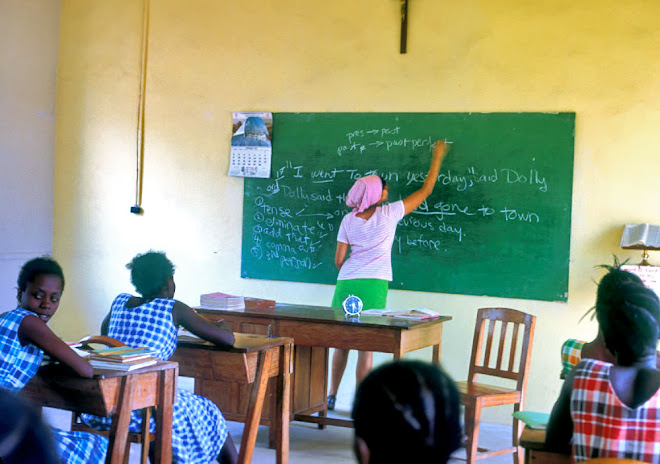 TTC teaching at Kenema
