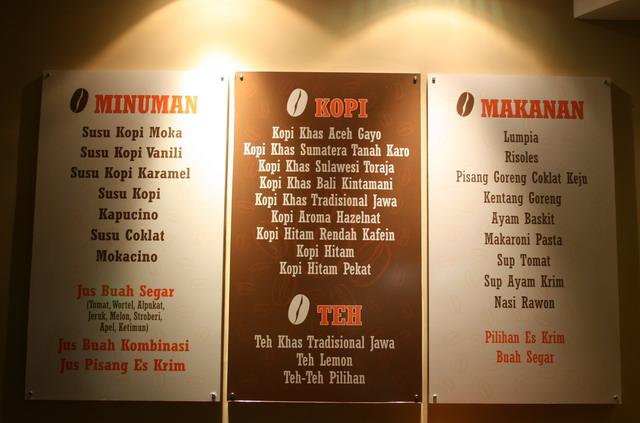 Menu Special Warkop Indonesia