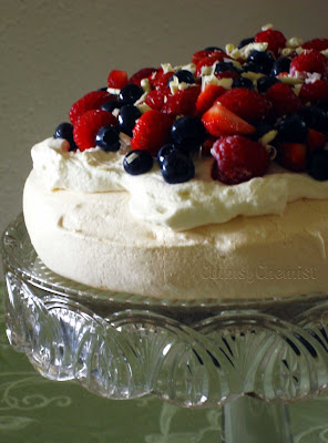 Daring Baker's Mixed Berry Pavlova