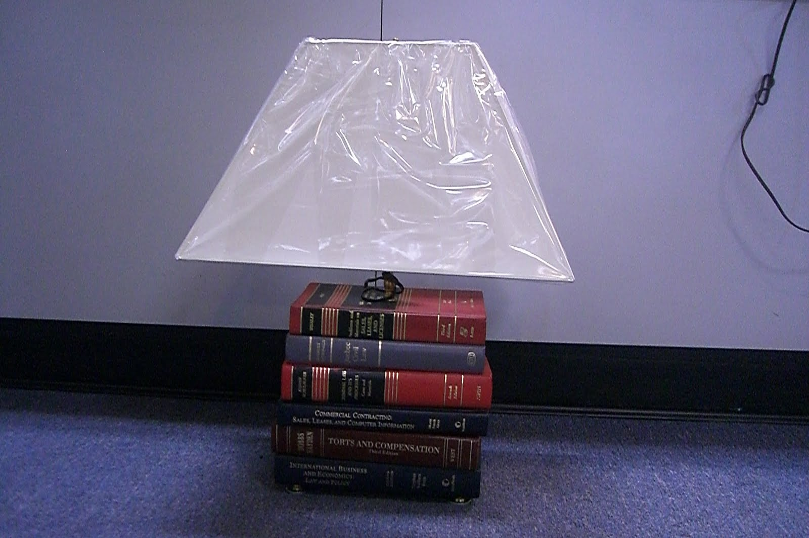 I've seen my share of great lamps and this one fits right into to