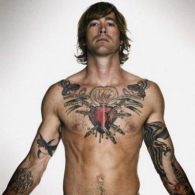 love heart tattoos. Heart tattoos for men