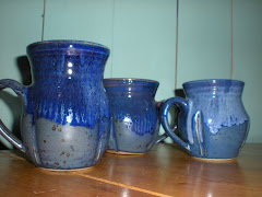 Blue Mugs