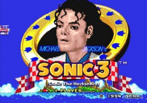 2 anos sem Michael Jackson: tributo revê os games do Rei do Pop Sonic_Michael
