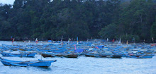 Deretan Perahu Nelayan