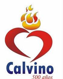 Logo 500 años nacimiento de Calvino
