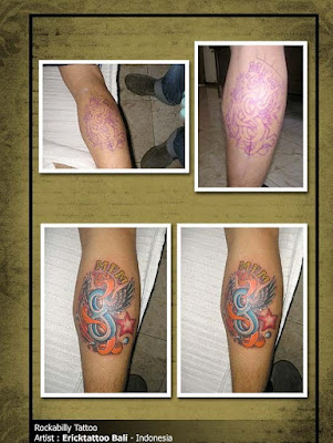 rockabilly tattoos. Rockabilly Style Tattoo